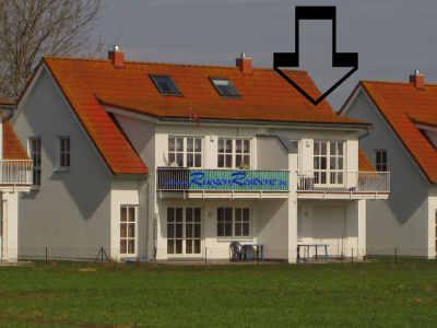 Ferienwohnung 1b RügenResidenz im Ort Zudar