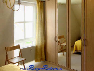 Das Schlafzimmer der FeWo 1b