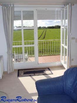 Balkonzugang vom Wohnzimmer