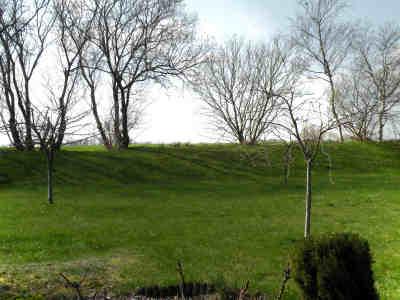 Das Grundstück grenzt unmittelbar an die weitläufige Landschaft