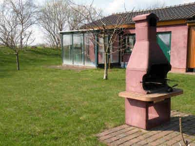 Der feste Grillkamin im Garten Ihres Feriendomizils