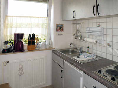 """Kitchenette in der FeWo """"Zum Tollow"""" R�gen / Ostsee"""