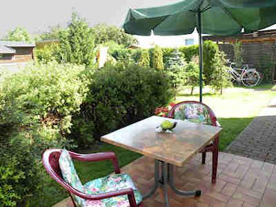 Gartenmöbel auf Ihrer eigenen Terrasse am Ferienhaus