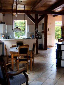 Wohnzimmer FeWo Altes Gutshaus