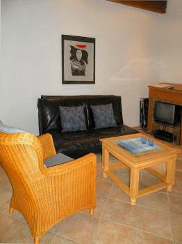 Muster-Wohnzimmer Ihrer Ferienwohnung
