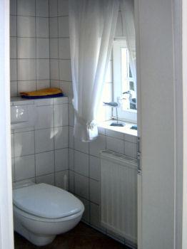 Im Erdgeschoß finden Sie das Gäste-WC