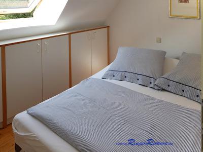 """Schlafzimmer Nr.2 in der FeWo """"Altes Gutshaus Losentitz"""" auf Rügen"""