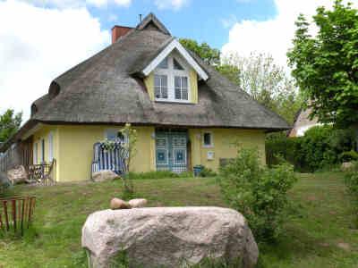 Das Reetdach-Ferienhaus in Silmenitz auf Rügen
