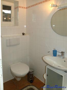 Das Gäste-WC im Erdgeschoß